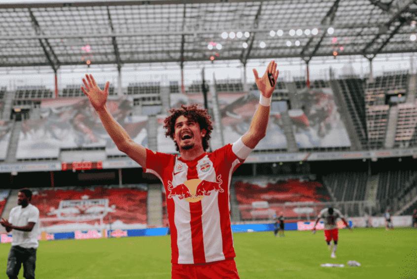 Crédito: André Ramalho é um dos pilares da equipe do RB Salzburg (Divulgação/RB Salzburg