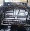 Veículo ficou completamente destruído . Crédito: Rosinaldo das Neves