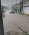 Rua Emílio Chagas, no bairro Vila Independência, em Cariacica, completamente alagada. Crédito: Jean Salles