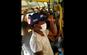 Imagens mostram ônibus do Transcol lotado; linha faz o trajeto entre Jacaraípe, na Serra, e Vila Velha