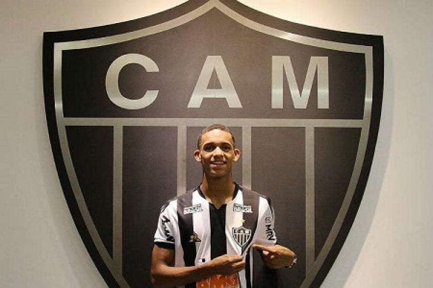 Crédito: Borrero ganha mais uma chance de mostrar serviço no Galo de Sampaoli-(Divulgação/Atlético-MG