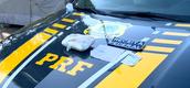 Cloridrato de cocaína apreendido em operação conjunta da PRF e Receita Federal nesta sexta-feira (25)