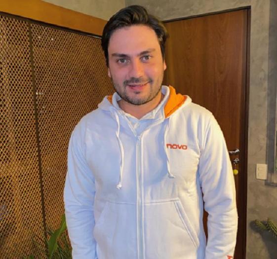 O empresário Filipe Sabará, do Novo