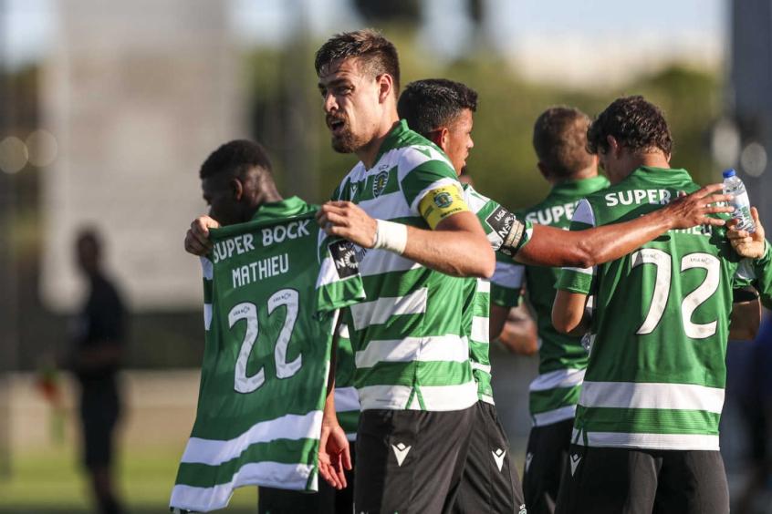 Crédito: Coates fez um dos gols do Sporting na vitória sobre o Paços de Ferreira (AFP