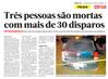 Chacina em Mantenópolis deixou quatro pessoas mortas; crime aconteceu em 2018