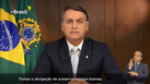 Bolsonaro em discurso na ONU