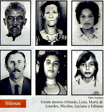 Chacina deixou seis pessoas mortas em Santa Leopoldina