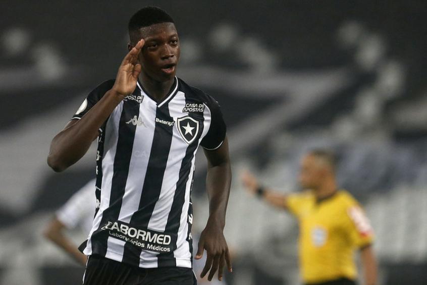 Crédito: Matheus Babi, do Botafogo (Vítor Silva/Botafogo