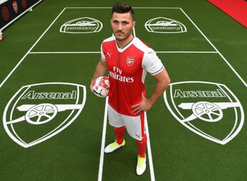 Crédito: Kolasinac está no Arsenal desde 2017 (Divulgação