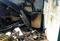 Incêndio destruiu cozinha da casa . Crédito: Divulgação/ Corpo de Bombeiros