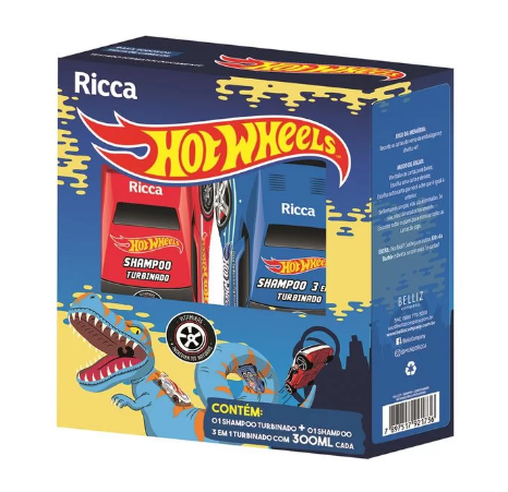 Kit Hot Wheels Pista Dinossauro, da Ricca