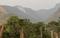 Fogo atingiu área de mata no Parque Nacional do Caparaó. Crédito: Corpo de Bombeiros