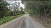 Rodovia Estadual onde o acidente ocorreu, entre Nova Venécia e São Gabriel da Palha
