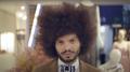 O cantor Diego Moraes no videoclipe