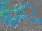 Previsão de chuva em todo o Estado, como mostra o Climatempo