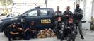 Drogas apreendidas pelos policiais em operação nesta terça-feira (27) em Vitória