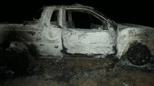 Corpo é encontrado dentro de carro incendiado em canavial de  Linhares