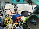 Criança de 4 anos foi transportada de Itaguaçu para Vitória pelo Notaer após acidente de carro
