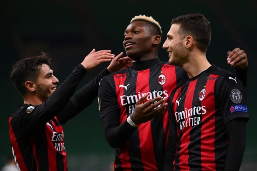 Crédito: Jovens do Milan se destacaram (MARCO BERTORELLO / AFP