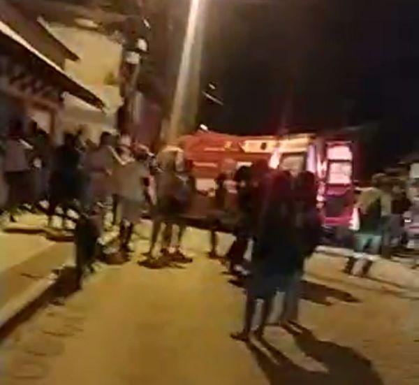 O crime foi registrado aconteceu por volta das 21h30, na rua Copa Setenta, bairro Santo Antônio