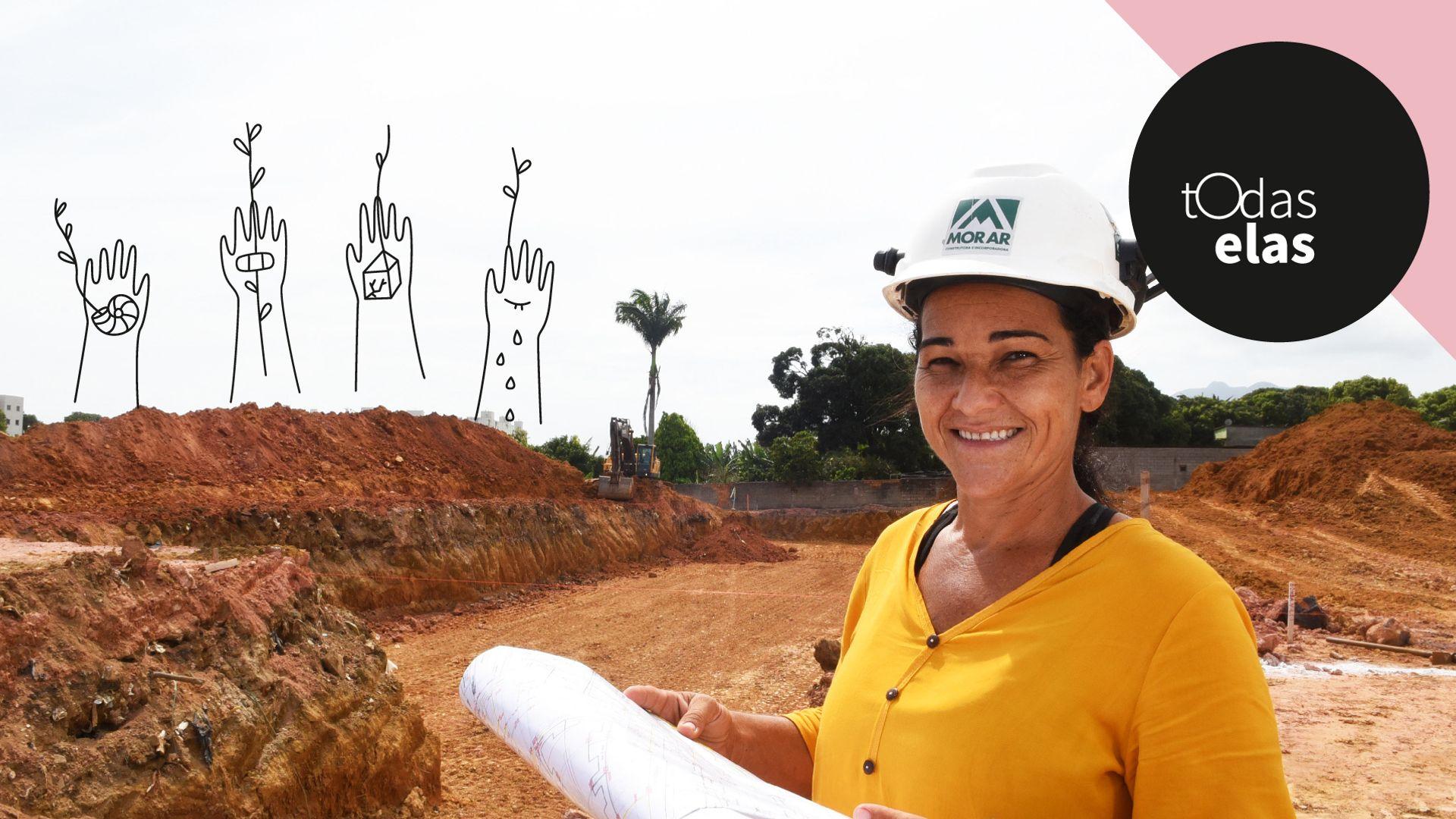 Keila Cristina Gonçalves Rezende, arquiteta e coordenadora de obras da construtora Morar