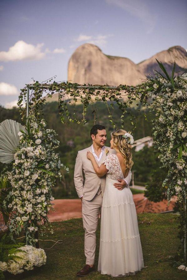 Casamento dos chefs Ari Cardoso e Chayane Lavagnoli, em Pedra Azul
