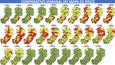 Comparativo mostra como os municípios foram classificados, de acordo com o risco de transmissão do coronavírus