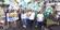 Vereador Denninho Silva e o candidato a prefeito, Fabrício Gandini, em caminhada de campanha. Crédito: Reprodução/Instagram