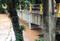 Chuva elevou o nível do rio em dois metros acima do normal. Crédito: Internauta