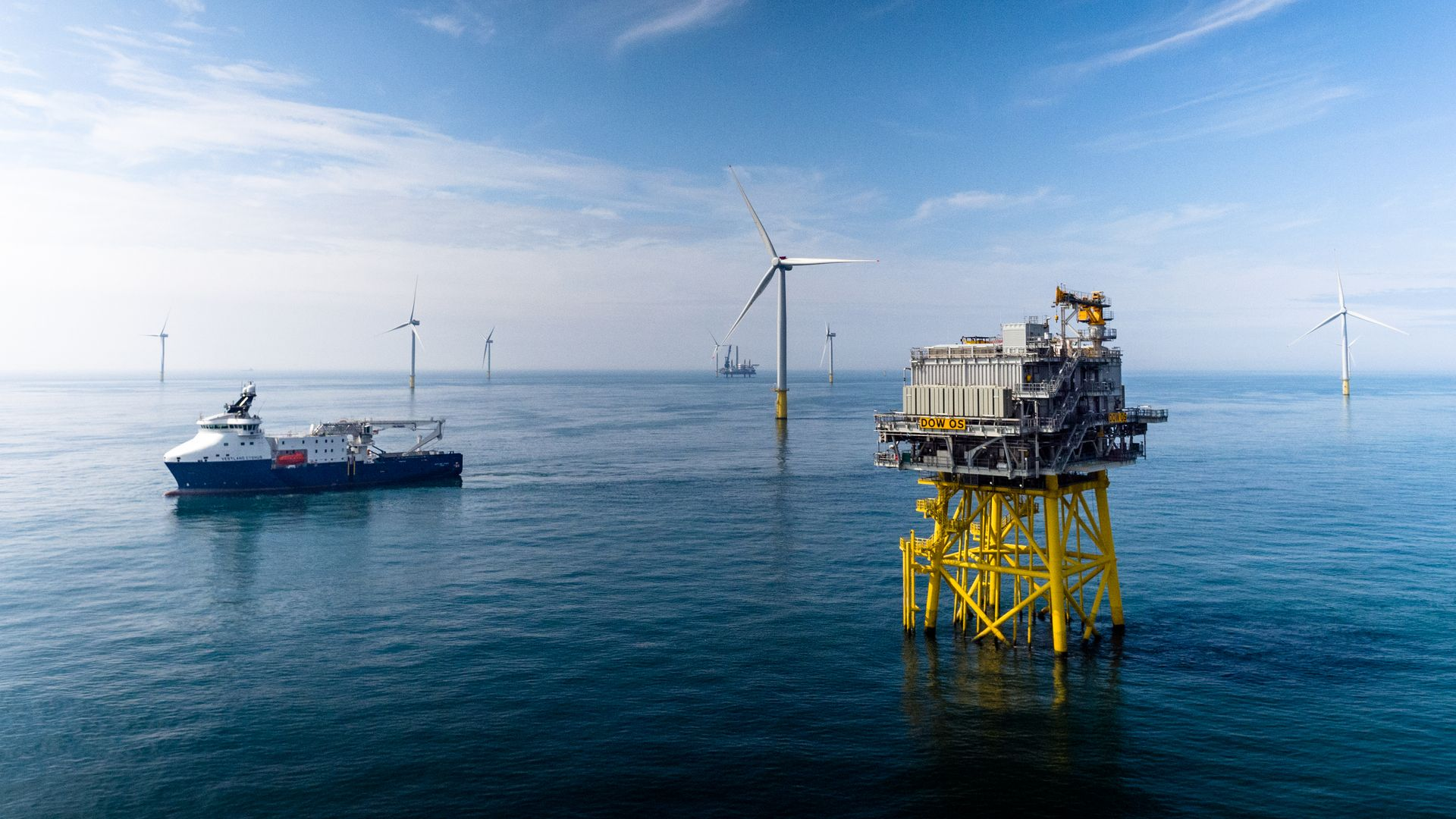 Parque Eólico Offshore Dudgeon, no Reino Unido, da Equinor