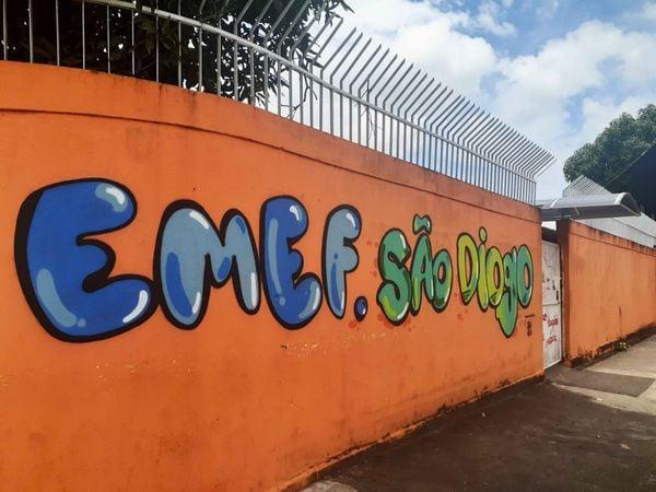 São Diogo possui duas escolas municipais da rede pública, mas nem todos os moradores conseguem vagas.