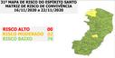 31º Mapa de Risco do Espírito Santo volta a ter duas cidades como de risco moderado