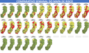 Comparativo mostra a evolução do mapa de risco desde o início da classificação, em abril