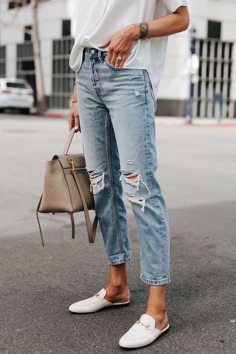 Dicas da Nanda - jeans rasgado