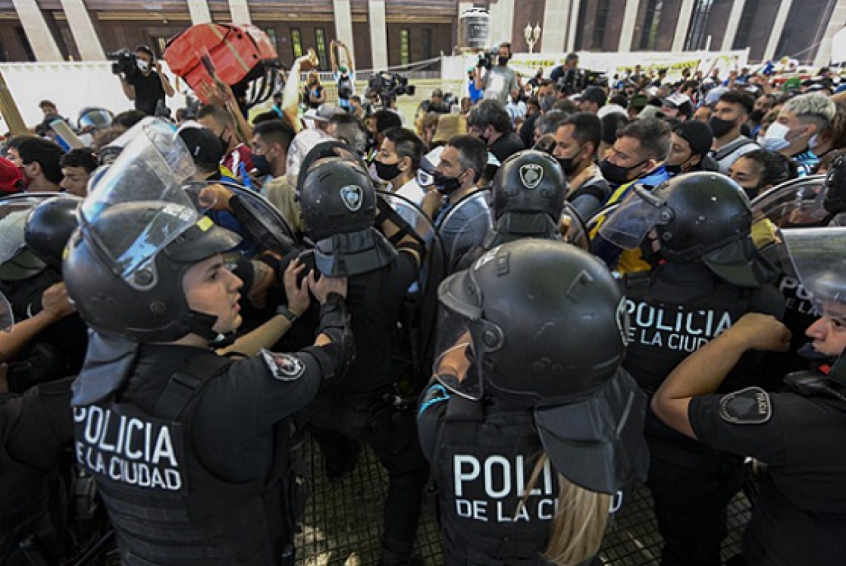 Crédito: JUAN MABROMATA / AFP