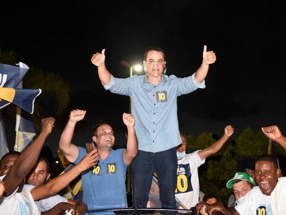 """Vamos dialogar com todos"""", diz Pazolini após ser eleito prefeito de Vitória    A Gazeta"""