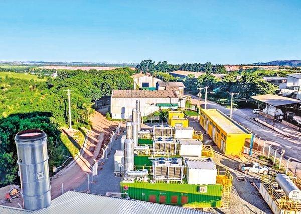 Fábrica de biogás da Marca Ambiental em Cariacica