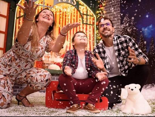 Shopping Vitória também terá sessão fotográfica em um estúdio especial, com neve artificial
