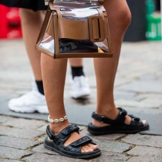 Dicas da Nanda,  sandálias com efeito acolchoado