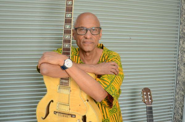 O sambista Cláudio Jorge. Crédito: Januário Garcia