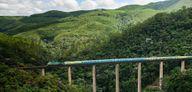 Trem de passageiros Vitória a Minas