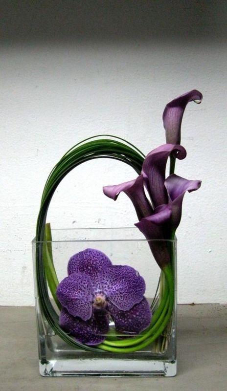 Coluna Vão Livre Inspiração  - arranjo de flores