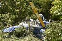 Helicóptero cai em Riviera da Barra, em Vila Velha