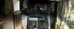 Eletrodomésticos ficaram destruídos após incêndio na tarde dessa terça-feira (11)
