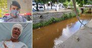 Policial pula em rio para salvar idoso que estava se afogando no ES
