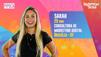 A consultora de Brasília Sarah, de 29 anos, integra do Grupo Pipoca. Crédito: Rede Globo/Divulgação