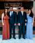 Da esquerda para direita: o prefeito de Afonso Cláudio, Luciano Pimenta, com a esposa, e o vice-prefeito também com a esposa. As duas foram nomeadas para serem secretárias da prefeitura. Crédito: Reprodução/ Redes Sociais Luciano Pimenta