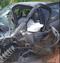 Acidente entre caminhonete e carro deixa um morto na ES-080, em São Roque do Canaã. Crédito: Internauta