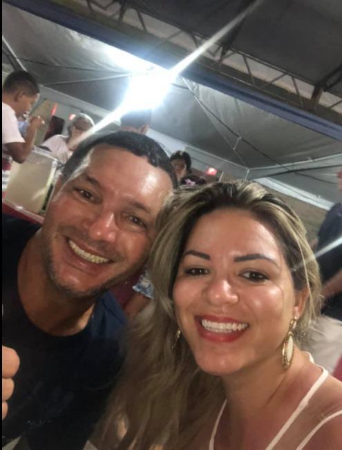Juarez Damaso da Silva e Juanara Giles, pai e filha