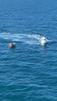 Equipes do Notaer auxiliaram em resgate a barco à deriva nesta segunda-feira (1) na costa do ES. Crédito: Divulgação/Notaer